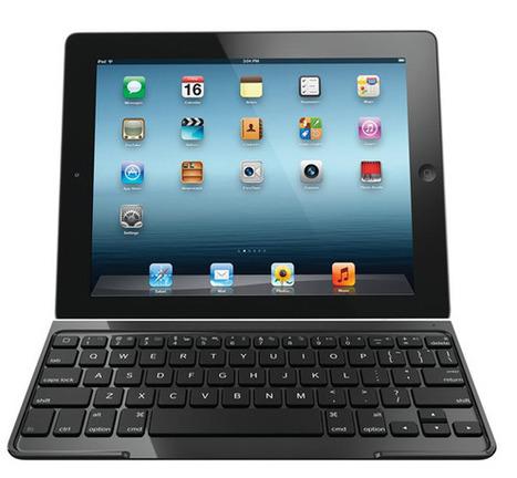 Nytt slimmat tangentbordsfodral för iPad från Logitech - Allt om Mac | Folkbildning på nätet | Scoop.it
