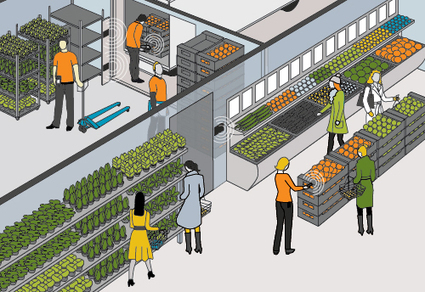 Grocery industry operations are facing a real paradigm shift   RFID   Scoop.it