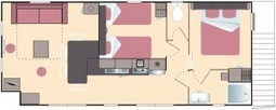 Location mobil-home bretagne 4 personnes 4 fleurs lodge panoramique, glamping | Le Camping Yelloh Village L'Océan Breton ***** | Scoop.it