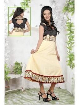 Annona Cream Cotton Embroidered Kurti 9837-Buy Online | Online Suit Salwar Kameez |  Suit Price| Suit Sale | Apparel | Women Suit | Scoop.it
