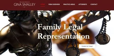 Portfolio of The Law Offices of Gina Smalley | Web Designing By Global Web Advisors | Global Web Advisors | Scoop.it