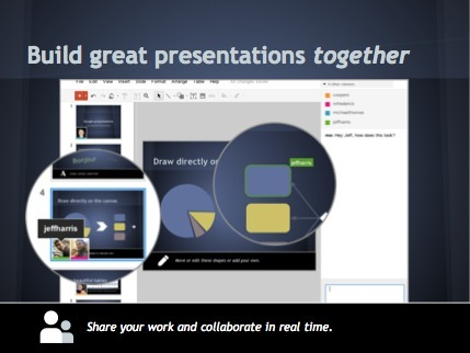 "Official Google Blog: A fresh start for Google presentations #edtech20 | ""#Google+, +1, Facebook, Twitter, Scoop, Foursquare, Empire Avenue, Klout and more"" 