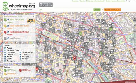 Wheelmap.org - où aller avec un fauteuil roulant ? | Journalisme graphique | Scoop.it