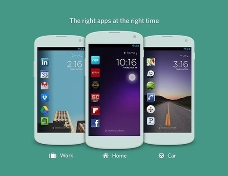 Cover Android App Allows You To See Different Apps At Selected Times Or ... - Geeky gadgets   I Love Android   Scoop.it