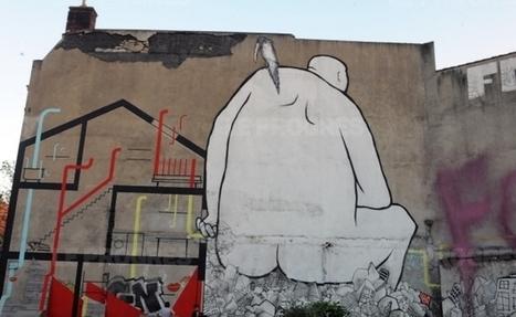 Le street art va imposer son style sur les murs de Roche-la-Molière | World of Street & Outdoor Arts | Scoop.it