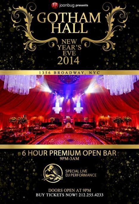 Gotham Hall New Years Eve 2014 | Gotham Hall NYE | Scoop.it