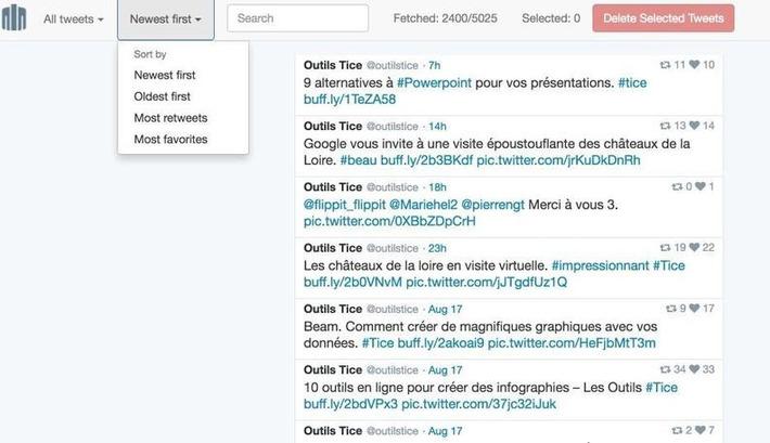 Cardigan. Trouver et effacer de vieux tweets – Les outils de la veille | TIC et TICE mais... en français | Scoop.it