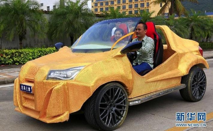 """La Chine imprime une voiture en 3D pour 1600 euros   Argent et Economie """"AutreMent""""   Scoop.it"""