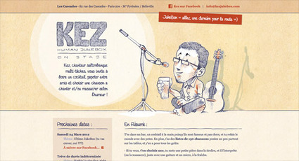 Showcase of Illustrations & Sketches in Web Design   timms brand design   Scoop.it