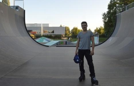 Strasbourg: Nicolas Mougin, des petites roulettes aux feux de la rampe sur ses rollers | Strasbourg Eurométropole Actu | Scoop.it