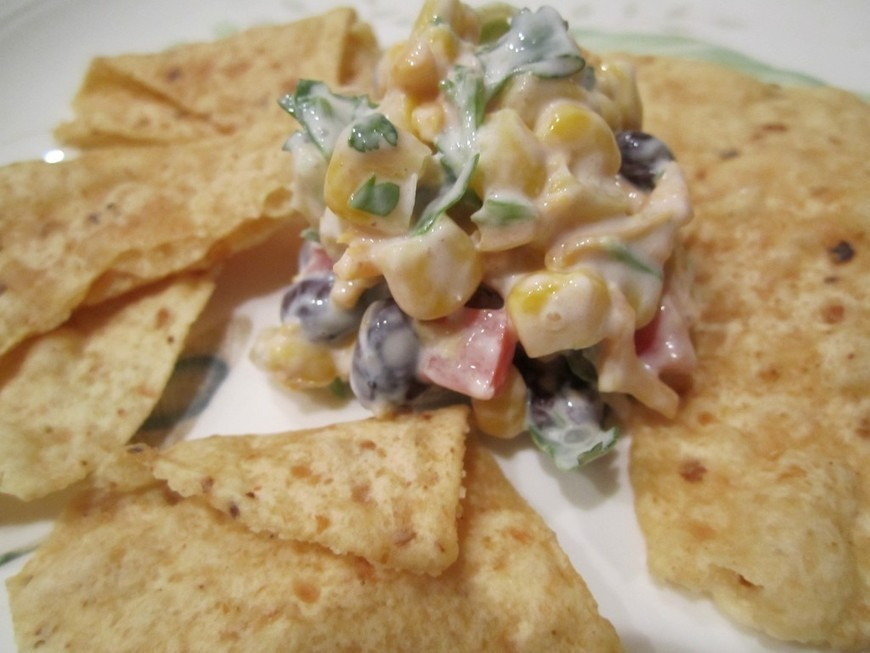 Recipe: Healthy Corn & Black Bean Salsa