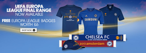 Chelsea Megastore - The Official Chelsea FC Store | New Chelsea Kit | New Chelsea Training | New Chelsea Fashion | Official Chelsea Shop| Worldwide Next Day delivery from £4.95! | media and technology | Scoop.it
