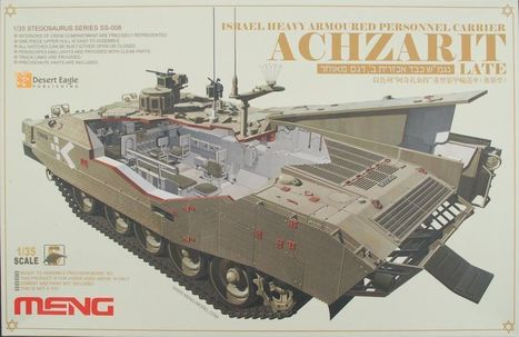 Achzarit (Late), with interior, in 1/35... - Kits | Francois' Scale Modeling Gazette | Scoop.it