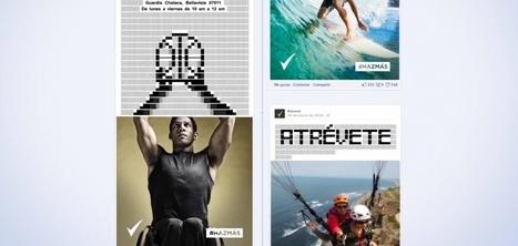 Rexona rend les posts Facebook interactifs avec l'art ASCII | campagne digital | Scoop.it