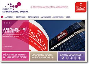 1er Digijob de l'Institut du Marketing Digital de l'ESSCA le 27 mars prochain !   Actualités ESSCA   Scoop.it
