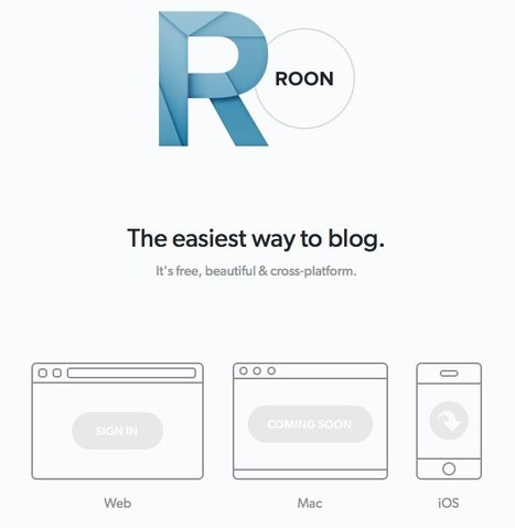 Roon — The easiest way to blog | BIZ BUZZ for Start-up, Small and Medium sized Food Businesses. | Scoop.it