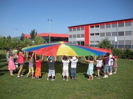 Jeux du Parachute   Office Central de la Coopération à l'Ecole - Département 64   Jeux coopératifs   Scoop.it