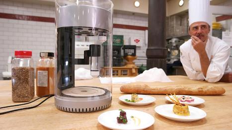 Cette machine va imprimer vos plats en 3D | FabLab - DIY - 3D printing- Maker | Scoop.it