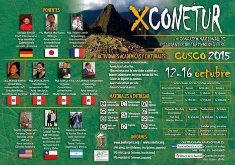 X-CONETUR: Congreso Nacional de estudiantes de turismo | RedDOLAC | Scoop.it