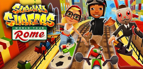 Subway Surfers Rome ( APK ) For Android | ExtraMob - Free Download Top Games, Apps, Live Wallpapers, Themes | Free Download Top Games, Apps, Live Wallpapers, Themes,  For iPhone, Android, Windows Phone, Symbian On ExtraMob.Com | Scoop.it