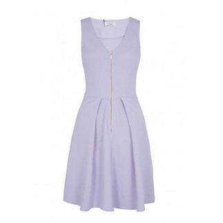 Lilac Front Zip Ponti Dress | Shop Online | BeSaz Boutique | Nigeria | Ghana | Besaz Boutique | Scoop.it