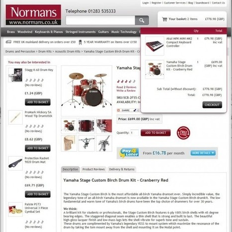Normans Increases Web Conversions by 48% with Xanthos Website Redesign | Digital Marketing | Scoop.it