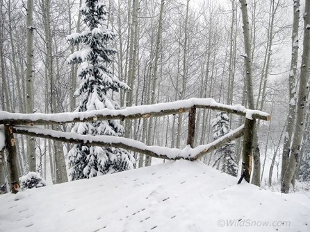 Snow at the Port-a-hut! - The Backcountry Skiing Blog   Small All Season Homes On Wheels   Scoop.it