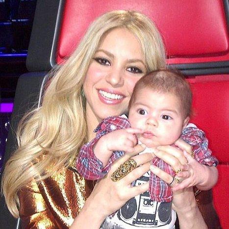 Shakira et Gérard Piqué : leur bonheur avec bébé en photos | Actualités familiales | Scoop.it