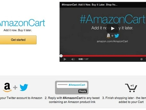 Why Amazon wants you to use Twitter hashtags to shop - CNET | How Social Media is Used for Marketing | Scoop.it