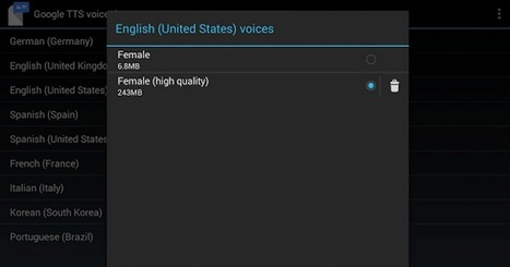 4 of The Best Text to Speech Apps for Android | m-learning (UkrEl11) | Scoop.it