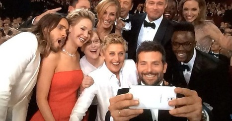 Ellen's Using an iPhone Backstage, Not the 'Samsung Selfie' Phone | An Eye on New Media | Scoop.it