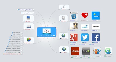Social Shares is the New SEO [Mindmap] | Time to Learn | Scoop.it