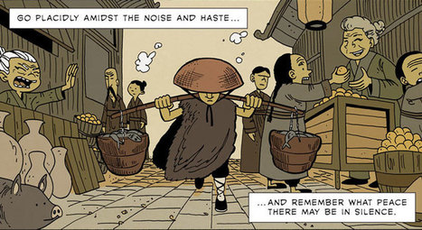 This Zen Comic Is Full of Timeless Life Lessons | everything about books, reading, writing ... | Scoop.it