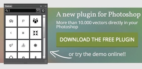 Plugin photoshop gratis para acceder a 15 mil iconos - Frogx Three | Herramientas | Scoop.it
