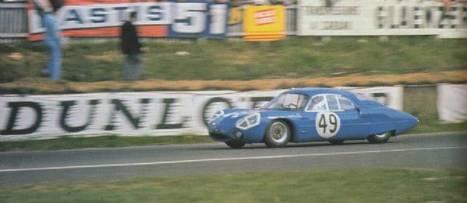 Le Mans 1963 : Alpine fait ses débuts aux 24 Heures | Le Point.fr | Que s'est il passé en 1963 ? | Scoop.it
