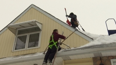 Variable wintry weather causes worries for homeowners   Edmonton Roof Snow Removal   Scoop.it