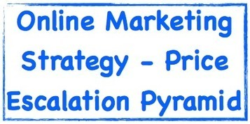 Online Marketing Strategy - Price Escalation Pyramid | Marketing Help and Cool Stuff | Scoop.it