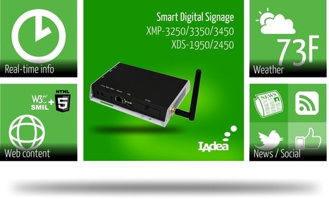 IAdea's New HTML5 Web Appliances Unify Digital Signage Content Formats | The Meeddya Group | Scoop.it