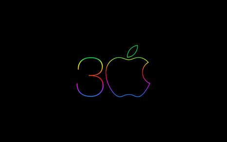 20 Excellent Apple Logo Wallpapers. | Macintosh | Scoop.it
