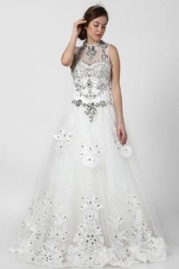 Gorgeous Net Elegant Ball Wedding Gown | Wedding Accessories | Scoop.it