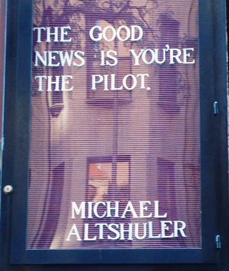 The Good News is You're the Pilot.   Health & Wellness   Scoop.it