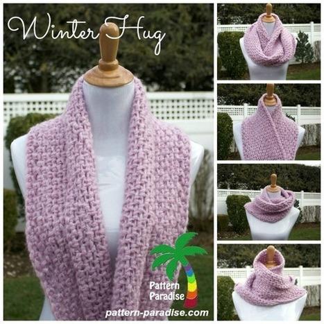 free crochet pattern - winter hug | FREE Crochet Patterns | Scoop.it