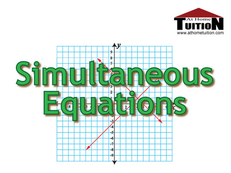 Algebra: Simultaneous Equations | Online Tutoring | Math, English, Science Tutoring | Scoop.it