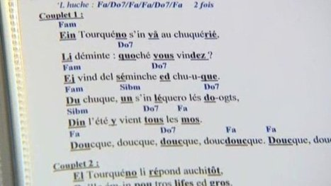 La langue picarde en danger de disparition ? – société - France 3 Picardie | Traduction et internationalisaton | Scoop.it