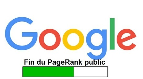Clap de fin officiel pour le PageRank public via Google Toolbar | Hébergement touristique en France | Scoop.it