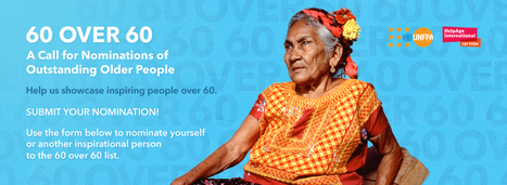 60 Over 60: A Call for Nominations of Outstanding Older People | From here and there ... | Scoop.it