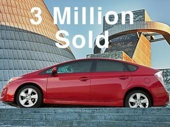 Toyota Prius hybrid reaches 3 million units sold worldwide milestone ... | Toyota | Scoop.it