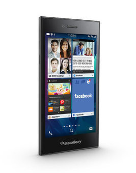 BlackBerry Announces Leap Phone, Moving Back Toward Touch Screens | Technobabble | Scoop.it