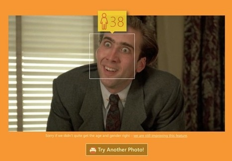 Microsoft's New Tool Can Guess Your Age Based On Your Photo, Try It Now! | MarketingHits | Scoop.it