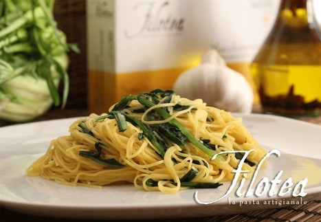 Maccheroncini with Catalogna Chicory | Le Marche and Food | Scoop.it